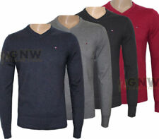 Tommy Hilfiger V-Neck Regular Size Jumpers for Men