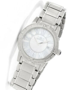 Invicta 13956 Angel White Mother-of-pearl Dial Diamond Speciality Collection