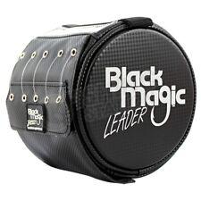 Black Magic Leader Feeder Bag Holds 5 Spools Supple Tough Fluorocarbon Trace