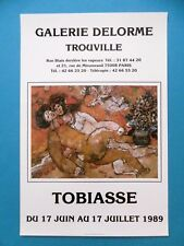 TOBIASSE Théo Affiche 89 Daphnis Chloé Mythologie Musique Ravel Ballet Lituanie