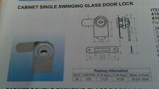 Chrome Keyed Alike Lock for Cabinet Swinging Glass Door