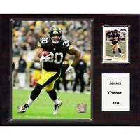 """NFL 12""""x15"""" James Conner Pittsburgh Steelers Player Plaque"""