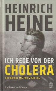 """"""" Ich rede von der Cholera """"  von Heinrich Heine (2020, Gebundene Ausgabe)"""