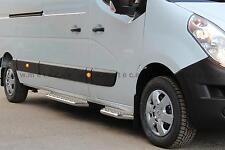 RUNNING BOARDS SIDE RENAULT MASTER 10- L2/L3 STAINLESS STEEL COUNTERPART RIGHT/