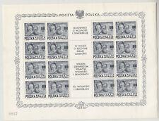 Polen Nr. 515 Kleinbogen, **