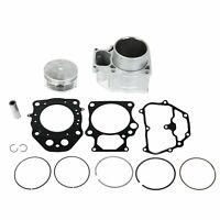 Cylinder Piston Gasket Top End Rebuild Kit For 07-18 Honda Rancher 420 TRX420