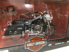 H11 Maisto 1/18 Harley Davidson Motorcycle 2001 FLHRC Road King Classic - S#33
