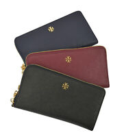 NWT Tory Burch Emerson Zip Passport Continental Wallet Pick a Color