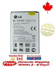 Original OEM LG Optimus G3 Battery D830 D850 D855 VS985 F400 BL-53YH 3000mAh