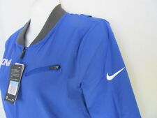 WOMEN'S UCONN HUSKIES FULL ZIP BASKETBALL NIKE JACKET BLUE SIZE M DRI FIT
