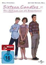 SIXTEEN CANDLES-DAS DARF MAN NUR ALS ERWACHSENER DVD NEU MOLLY RINGWALD,ANTHONY
