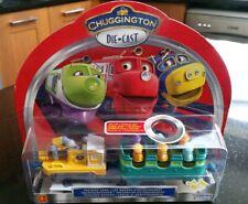 Chuggington Training Cars Wobbler Car & Leaf Blower Diecast - **FLAT BATTRIES**