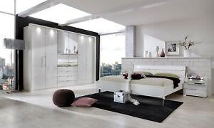 WIEMANN MOBEL GERMAN 300CM WARDROBE BEDROOM MAGNOLIA WHITE GREY FITTED  FREE