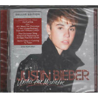 Justin Bieber CD DVD Under The Mistletoe Deluxe Edition Sigillato