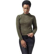 Taillenlange Damen-Pullover & -Strick mit mittlerer Stickart Größe XS
