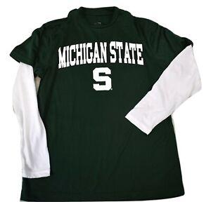 J. America Athletics Youth Boys Michigan State Spartans Shirt NWT S, M, L