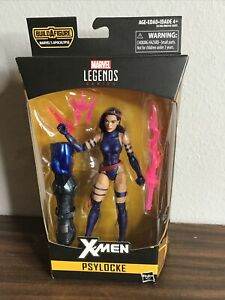 "Marvel Legends 6"" Psylocke X-Men Apocalypse BAF Series 2017 Hasbro -A1"