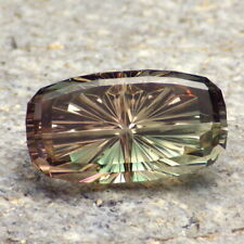 MULTICOLOR OREGON SUNSTONE 13.12Ct FLAWLESS-PERFECT CUT BY JOHN DYER-VIDEO