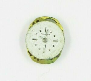 LADIES HAMILTON 780 17 JEWELS MANUAL WIND WATCH MOVEMENT FOR PARTS OR REPAIR