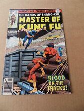 Master Of  Kung Fu  77 .   Marvel 1979 -  FN +