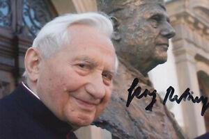 ^GEORG RATZINGER --- original signiert - A3#11a