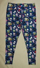 NEW Amelia Rose Hello Kitty Sanrio Pull On Womens Leggings Pants Size Large