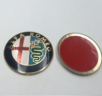 2 X 74mm Alfa Romeo Emblem logo CENTRAL CAP klassisch 159 mito 147