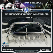 FITS TO CHRYSLER VOYAGER BULL BAR CHROME NUDGE AXLE A-BAR 2008-2016 OFFER NEW