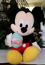 Mickey Mouse Easter Egg plush Walt Disney Stuffed Animal collectible soft toy