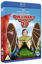 Gulliver's Travels Blu Ray & 3D Blu-ray (2012) NEW & SEALED - FAST UK DISPATCH !