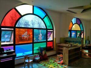 Window Film Mirrored Reflective Decorative Glass Sticker heat proof HOHOFILM