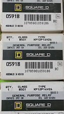 New Square D 05918 Class 8501 KP12P14V24 General Purpose Relay and Socket