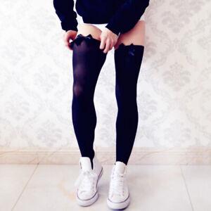 Men's Clubwear Sissy Lingerie Thigh High Stockings Lingerie Stretch Long Socks