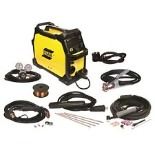 ESAB Rebel EMP 215ic MIG/Stick/Tig Welder and FREE HELMET BUNDLE (0558102240)