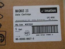 10 pack BRAND NEW sealed Imation Magnus 2.5 data tape cartridges DC9250 p/n46168