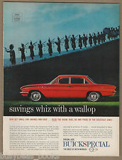 1961 BUICK SPECIAL advertisement, 4-door hardtop, large format advert