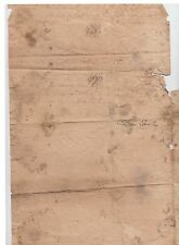 Early St. John N.B. 1824 Stampless SHIP LETTER 5 1/2
