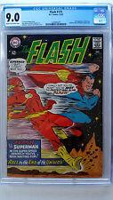 Flash #175 CGC 9.0 VF/NM  2nd Flash vs Superman Race