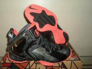 New Nike Lil' Penny Posite Foamposite One Gumbo NOLA PRM QS Black Red Shoes 10.5