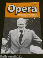 OPERA MAGAZINE - THE HAREWOOD YEARS AT THE ENO - JULY 1985