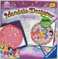 DISNEY PRINCESS FULL SIZE 2 IN 1 MANDALA DESIGNER RAVENSBURGER BRAND NEW SEALED