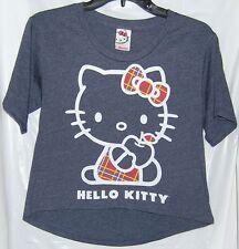 Hello Kitty Crop Tee APPLE BACK TO SCHOOL FREE USA SHIPPING XLARGE NWT