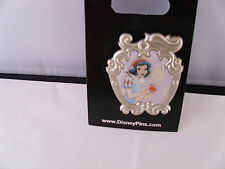 Disney * PRINCESS SNOW WHITE * Watercolor in Filigree Frame Pin * New On Card