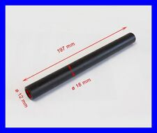 Buchse Metall für Achse Radachse  ø18x12mm  L197mm KinderQuad MiniQuad 110-125cc