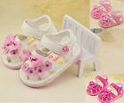 Baby Girls Toddler Flower Sandals Princess Infant Shoes Flash Lights Size 3-5