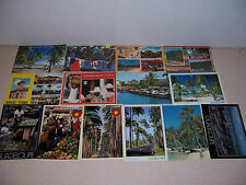 1960s-90s GUADELOUPE PHOTO POSTCARD LOT of 14 DIFF