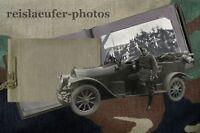 1. Weltkrieg, kleines Fotoalbum LKW, Kfz-Abt, 50 Original-Fotos von 1912-1920