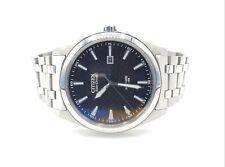 Citizen Eco-Drive Sapphire Crystal Watch Runs TT458