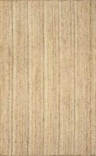 270X360 cm rectangle jute made hand braided living room area rug