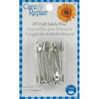Dritz Care & Repair Craft Safety Pins 20/Pkg-Size 3, 9605D